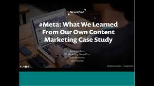 content marketing case study